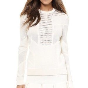 Torn by Ronny Kobo Faige Pointelle Pullover A0215
